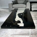 Bog Oak River Table